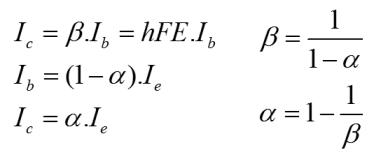 Transistor Equation