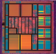 A semiconductor device under the microscope