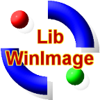 The LibWinImage Logo